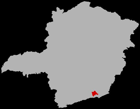 Lojas nas cidades do Estado de Minas Gerais