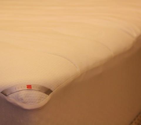 Protetor para colchões, detalhe