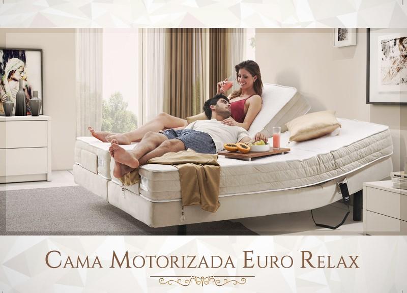 Cama motorizada Euro Colchões