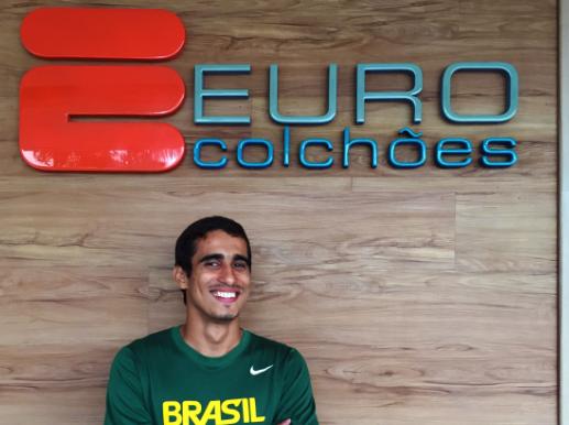 Diogo Ualisson Atleta Paralimpíco Euro Colchões