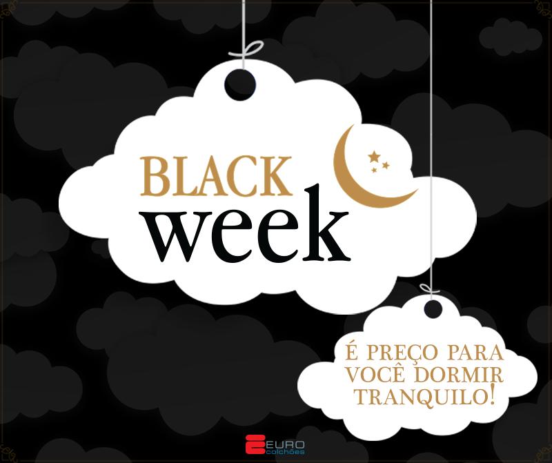 Black Week Euro Colchões