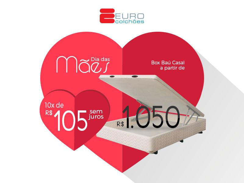 Você pode adquirir um colchão com molas casal a partir de R$1.120 à vista ou 10 x de R$112